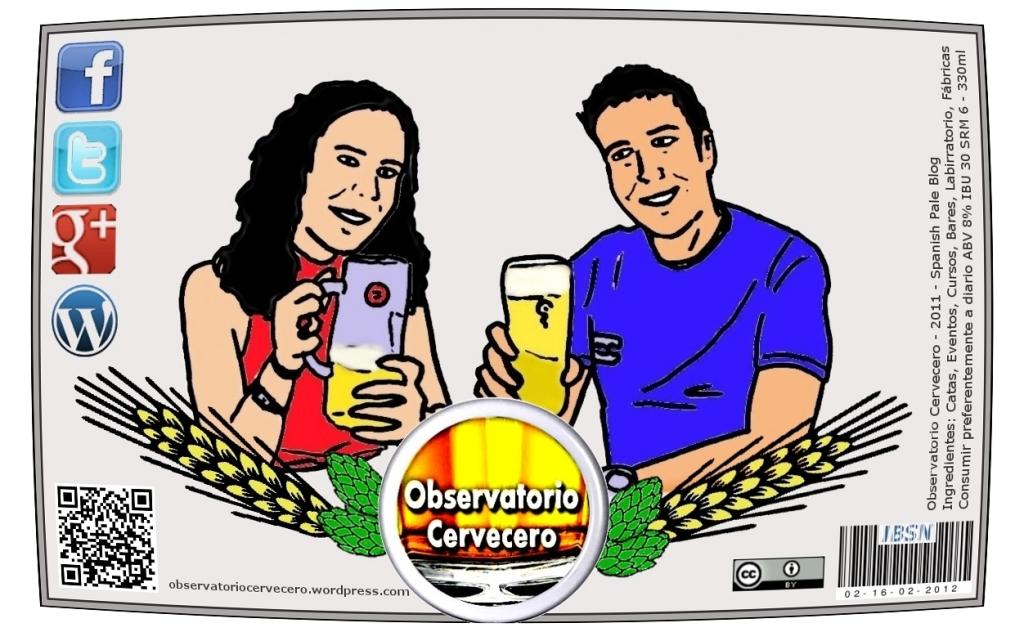 etiqueta observatorio cervecero