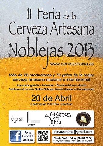 Feria de la cerveza Artesana de Noblejas 2013