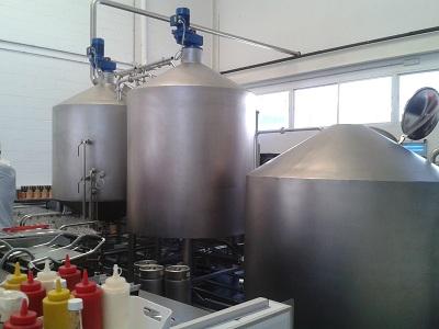 maquinaria Cervezas La Virgen